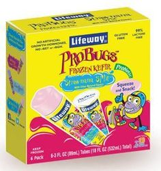 My kids FAV thing from CM! I didn't know they came in a frozen pop. too!! Lifeway Kefir frozen pops
