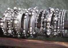 My Saharan bracelets