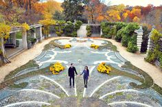 Dumbarton Oaks Georgetown Washington DC Engagement Session (12)