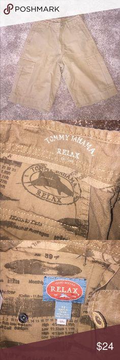 Men's Tommy Bahama shorts! Size 32! Taupe! Men's Tommy Bahama shorts! Size 32! Taupe!  Worn once! Tommy Bahama Shorts Cargo