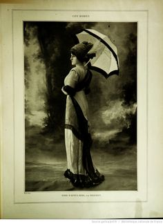 Les Modes : revue mensuelle illustrée des Arts décoratifs appliqués à la femme | 1912-04 | Gallica
