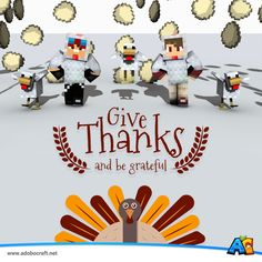 Happy Thanks Giving Day! From #AdoboCraft  www.adobocraft.net