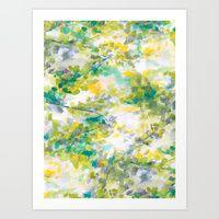 Art Print featuring Canopy (green) by Jacqueline Maldonado