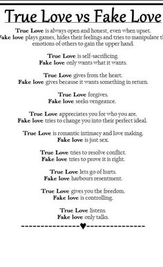 You are a fake. A fraud. You are incapable of real love. You use love, affection, sex as tools to control, manipulate, punish, direct, redirect, rule.