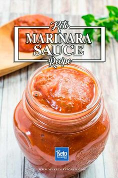 This Low Carb Keto Marinara Sauce Recipe Is A Delicious Sauce Minus The Sugars. It Goes Well With Many Dinner Recipes And Makes A Great Condiment As Well. It's Gluten-Free And Suitable For Paleo Diets Also. By means of Myketokitchen Keto Foods, Healthy Low Carb Recipes, Low Carb Dinner Recipes, Low Carb Keto, Keto Recipes, Keto Dinner, Keto Fat, Eat Healthy, Paleo Diet