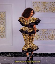 latest ankara gown styles - African Prints Styles Latest Ankara Gown Styles 2020 3 651x760 - 40 Pictures – New and Stylish African Prints Styles: Latest Ankara Gown Styles 2020 - photo