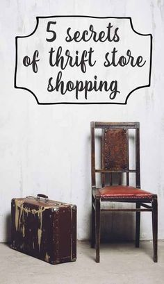 Thrift store secrets {to shop like a pro!}