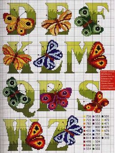 Alphabets Cross stitch