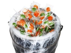How to Make a Cauldron o' Candy from FoodNetwork.com