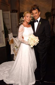 Eric Braeden - Melody Thomas Scott AKA - Victor and Nikki Newman - their last wedding!!!! or maybe not!!! lol