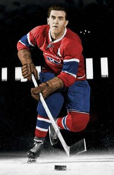 Post with 0 votes and 102 views. I colored this photo of Maurice Richards for the 30 Greats / 30 Days header. Hockey Teams, Hockey Players, Ice Hockey, Montreal Canadiens, Montreal Hockey, Maurice Richard, Bobby Hull, Hockey Pictures, Popular People