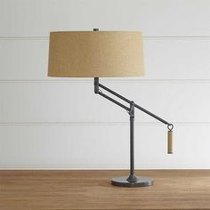 Crate & Barrel Autry Table Lamp (300 CAD) ❤ liked on Polyvore featuring home, lighting, table lamps, drum shade, crate and barrel lighting, alabaster table lamp, crate and barrel and alabaster shades