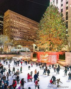 The Rockefeller Center Ice Skating Rink is the most famous Rink in all NYC but also the most expensive one! Keep in mind the city has other Ices by mychristmasinnewyork