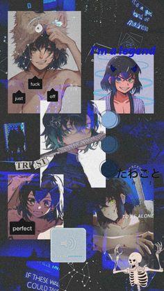Kimetsu no yaiba Anime Wallpaper Phone, Anime Backgrounds Wallpapers, Hero Wallpaper, Animes Wallpapers, Cartoon Wallpaper, Cute Wallpapers, Anime Collage, Fan Art Anime, Demon Slayer