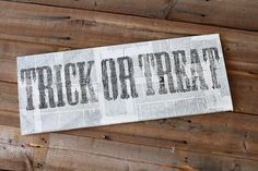 Tutorial on making distressed signs like this (an alternative to my cross-stitch idea, maybe?)