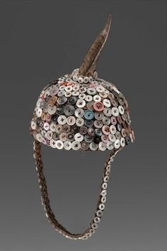 Hat African, Democratic Republic of the Congo, Lega peoples century Object Place, Democratic Republic of the Congo DIMENSIONS Height: 21 cm in. African Hats, Tribal Hair, Tribal People, Circlet, Museum Of Fine Arts, African Fabric, Tribal Jewelry, Headgear, Congo