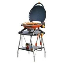 Napoleon Travel Q Portable Propane Gas Grill With Collapsible Stand