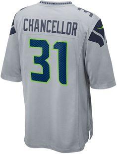Nike Men Kam Chancellor Seattle Seahawks Game Jersey 3a6d64629