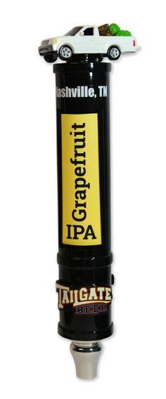 Tailgate Brewery custom tap handle