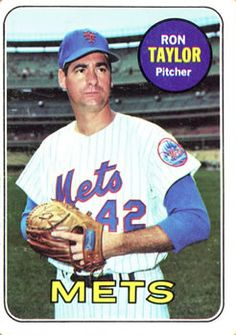 1969 Topps #72 Ron Taylor Front