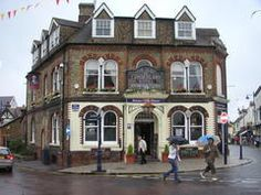 Whitstable, Kent, England - Duke of Cumberland Hotel and a pub on 1st floor -Google Maps