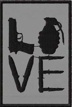 OMLpatches.com - Love Guns and Knives Morale Patch, $6.50 (http://www.omlpatches.com/love-guns-and-knives-morale-patch/)