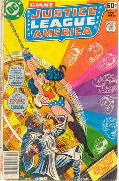 Justice League Of America #151 (February 1978) - Cover by Al Milgrom and Joe Orlando