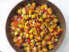 Get Grilled Pineapple-Jicama Salsa Recipe from Food Network