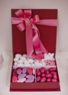 Idea Regalo: scatola portaconfetti #confetti #caramelle #cioccolatini #regalo #gift