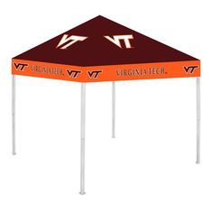 Virginia Tech Hokies NCAA Ultimate Tailgate Canopy Replacement Top Only