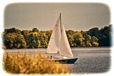 Sailing on the Lake Outdoor photography by DebNyman on Etsy, $8.00