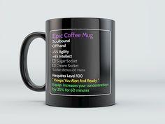 MMO Mug - Epic Coffee Mug