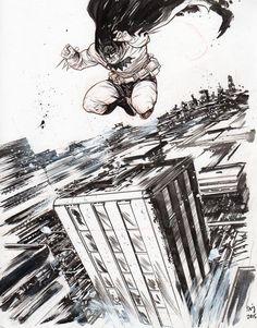 The Dark Knight by Daniel Warren Johnson