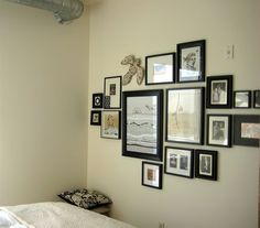 Wall Collage instead of a head board?