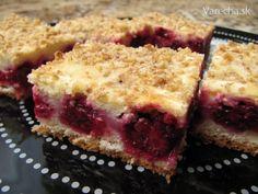 Bohatý černicový koláč (fotorecept)