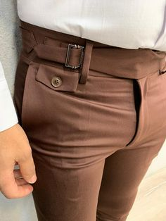 Product : pleated buckled pantsCollection: 🍁AUTUMN-WINTER Collections Size material : Washable : yes Fitting : Slim Fit Remarks: Dry Cleaning Only Shipping Company: DHL African Wear Styles For Men, African Shirts For Men, African Clothing For Men, Mens Clothing Styles, Formal Men Outfit, Formal Pants, Slim Fit Dress Pants, Men Dress, Mens Plaid Pants