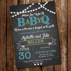 Hey, I found this really awesome Etsy listing at https://www.etsy.com/listing/189547026/chalkboard-baby-q-baby-shower-for-a-boy