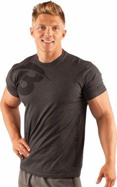 Bodybuilding.com Clothing Men's Core B Swoosh Tee