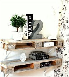 10 Ways to Upcycle Wooden Pallets by Jen Stanbrook                                                                                                                                                     More