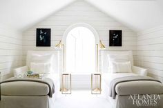 twin chaise beds
