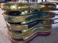 1962 Custom Color Fender Custom Shop Eddie Vegas DREAM RELIC I Had Built 2012