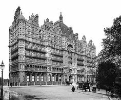 Russell Hotel London Camden London, Old London, Victorian London, Vintage London, London Architecture, Victorian Architecture, Russell Square, London Square, London History