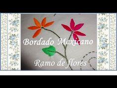 En este video aprenderás a bordar un estilo de flor. Si sigues los 4 videos aprenderás a hacer la flor, hojas y tallos. Un ramo en el cual podrás aplicarlo a...