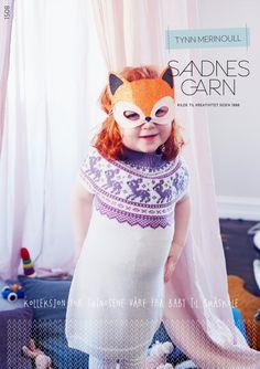 1508 Tynn Merinoull - Fra Baby til Småskole. Knit Crochet, Crochet Hats, Prom Dresses, Formal Dresses, Baby Girl Dresses, To My Daughter, Baby Knitting, Dress Skirt, Romper