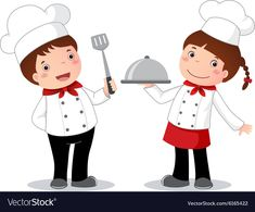 67 Cartoon Boy And Girl Cooking Cooking Master Boy, Girl Cooking, Boy And Girl Cartoon, Boy Or Girl, Painting Lessons, Painting For Kids, School Board Decoration, Scrapbook Recipe Book, Teacher Images