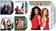 Rizzoli & Isles Seasons 1-5 (DVD)
