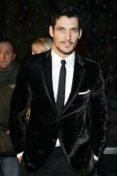 David Gandy, # 17 on the most stylish men in Britain, fab jacket !