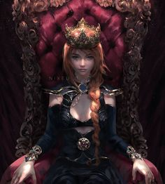 Dark Fantasy Art, Fantasy Girl, Fantasy Artwork, Fantasy Characters, Female Characters, Character Inspiration, Character Art, Character Types, Video Games Girls