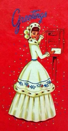Christmas Mail, Christmas Card Images, Christmas Graphics, Christmas Jewelry, Retro Christmas, Vintage Christmas Cards, Vintage Holiday, Christmas Greeting Cards, Christmas Greetings