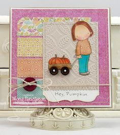 Hey Pumpkin ... You're the cutest pumpkin in the patch - Cupcake's creations